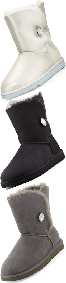 Ugg Australia Bailey Crystal button short boots