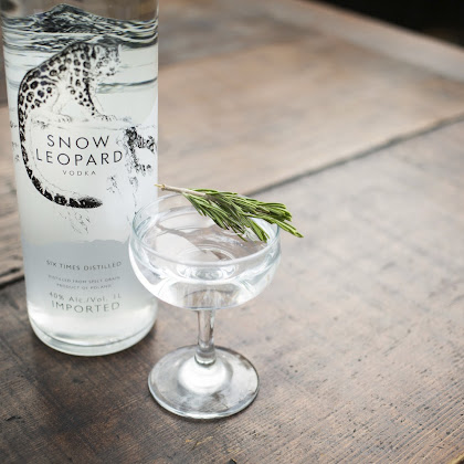 Snow Leopard - Uma Vodka com carácter