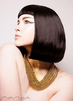 Contextual Influences In Art And Design Egyptian Hair