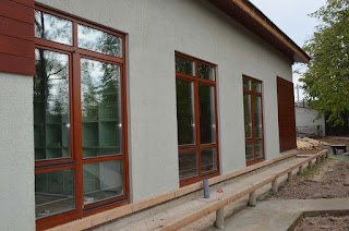 Лиственичные деревянные окна