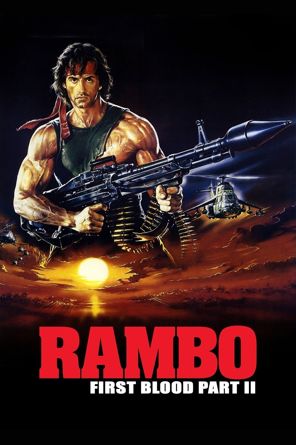 A Film A Day Rambo First Blood Part Ii 1985