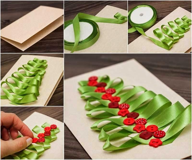 how to make creative christmas cards