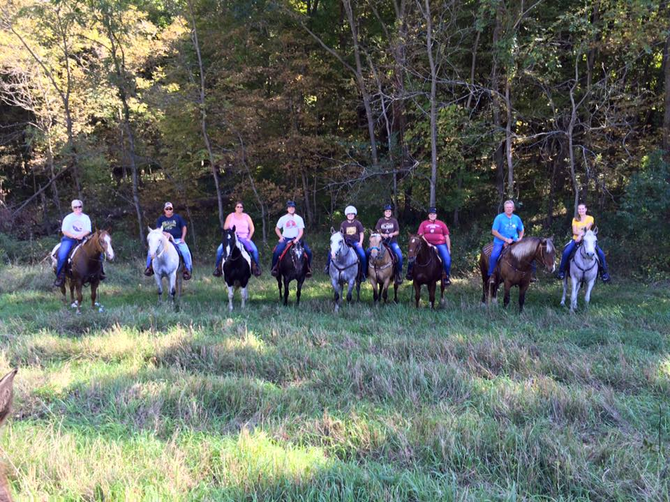 Clinton County 4H Clubs hosts trail ride for Saint Jude's | The Gallery