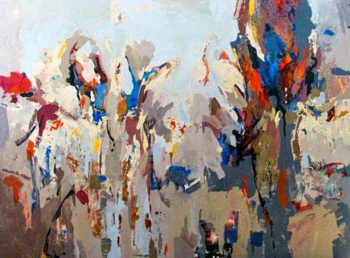 Иранский художник-абстракционист. Majid Eskandari