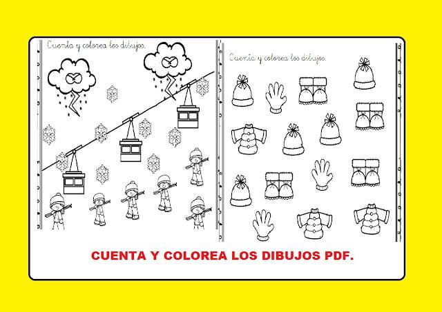contar,colorear,jugar,preescolar,primaria