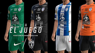 Kits Pachuca 2016-2017 Pes 2013 By Bk-201