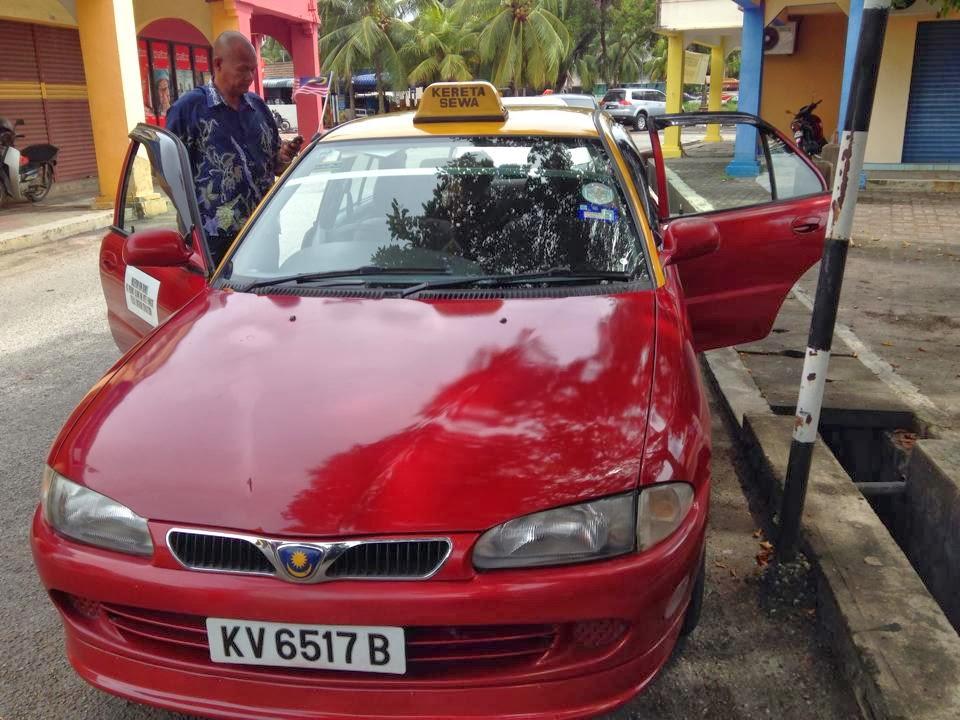 Sopir taksi di Langkawi