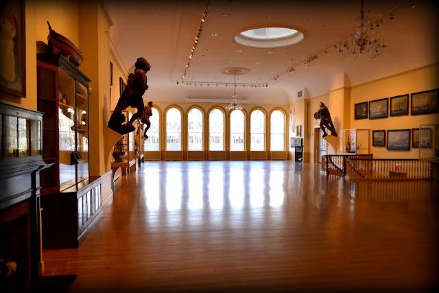 East India Marine Hall, Peabody Essex Museum, Salem, Massachusetts, interior