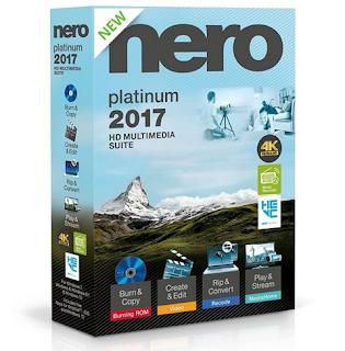 Nero 2017 Platinum 18.0.08400 + Content Pack + Parche FIX (Español)