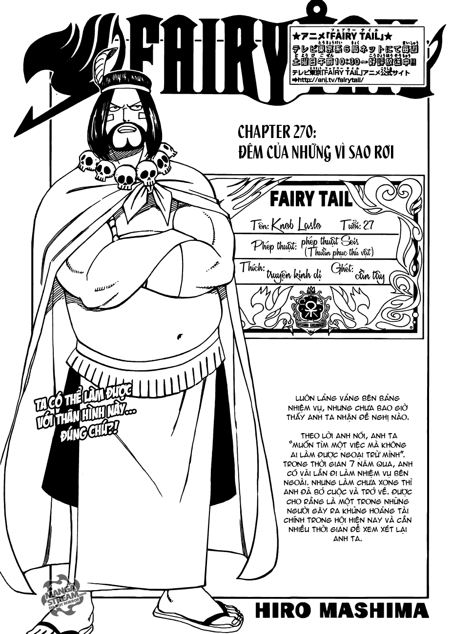 Fairy Tail chap 270 trang 1