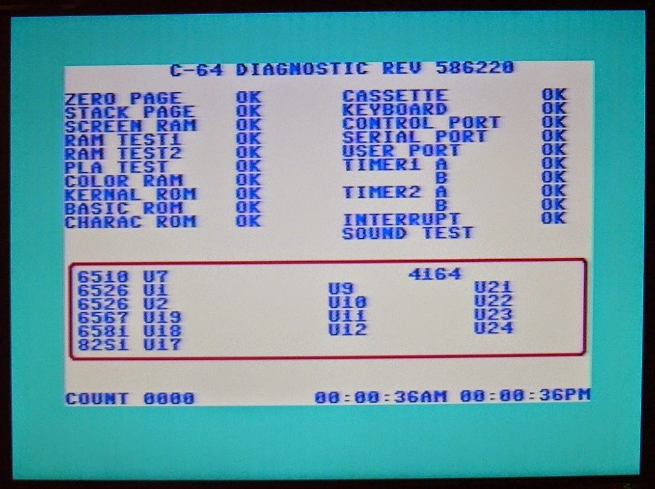 Tynemouth Software: Commodore 128 Repair - Part 3 Testing