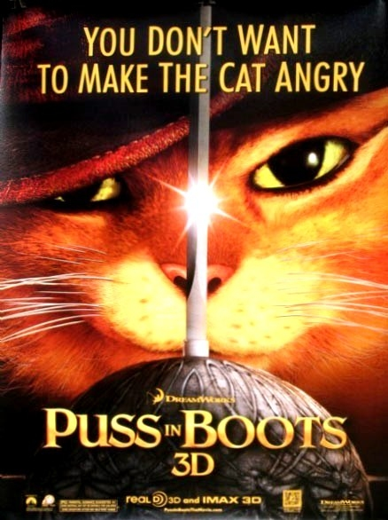 Reviewers Without Borders Puss In Boots 2011