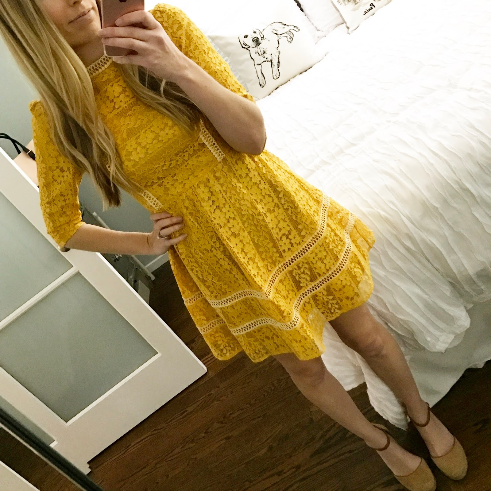 The Yellow Spring Dress