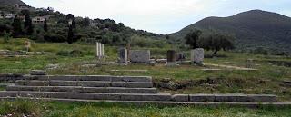 ο ναός της Μεσσήνης στην Αρχαία Μεσσήνη