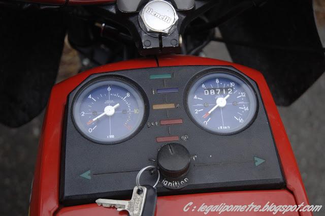 Les cousines Benelli / Moto Guzzi 254 (Années 70) _DSC0037