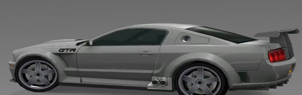 Ford Mustang GT R Concept 2004