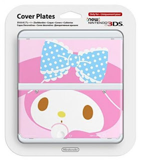 New Nintendo 3DS Kisekae plate No.076 (My Melody) Japan Import