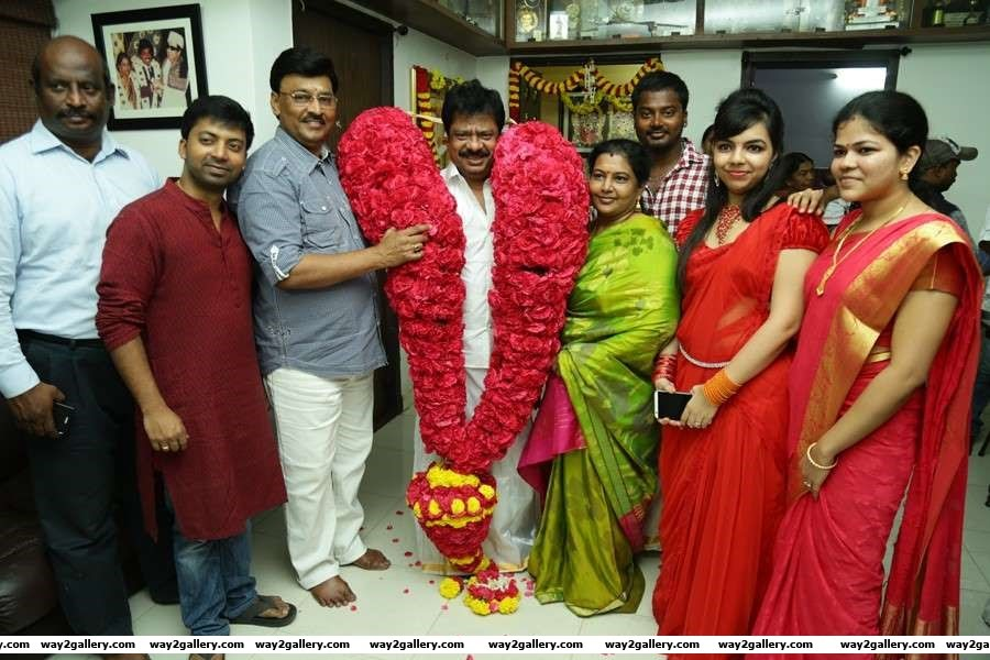 Tamil actor Pandiarajan recently celebrated his th birthday