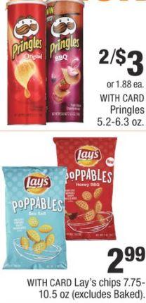 Pringles cvs deal