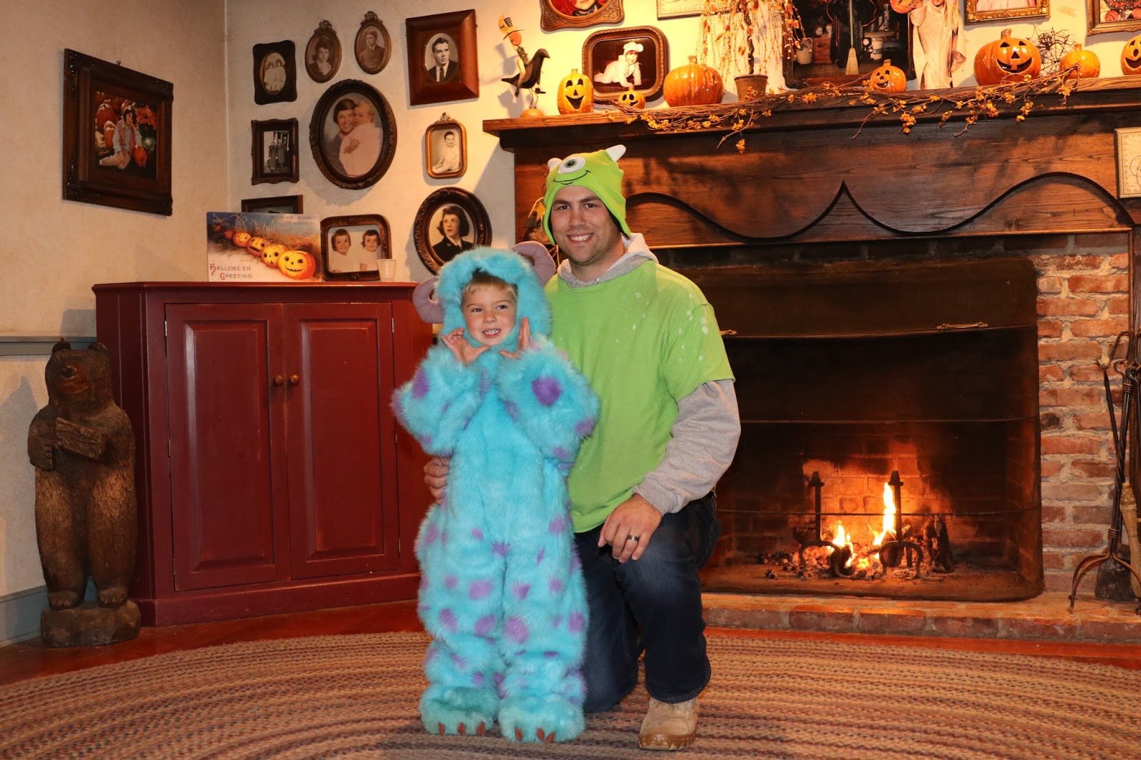 monsters inc mike and sulley costumes