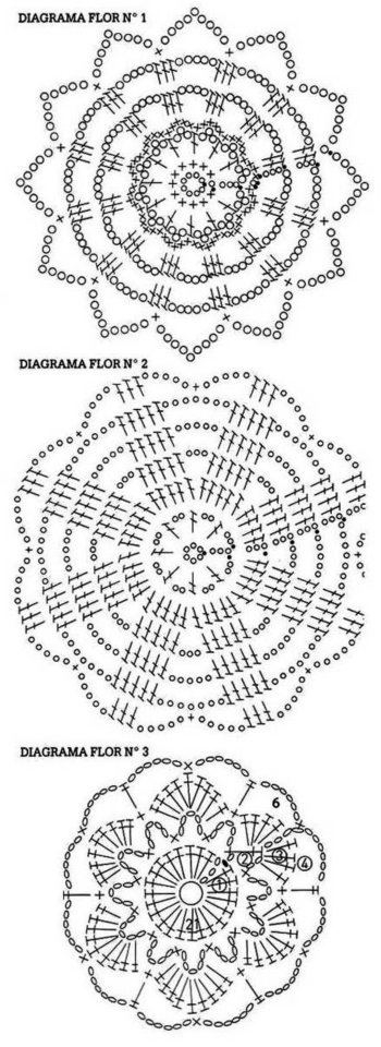 ergahandmade  crochet top   diagrams