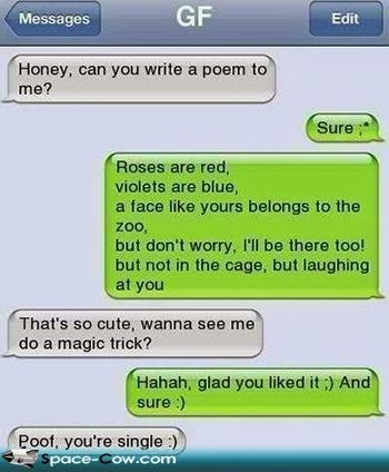 Love poem ~ Funny pictures