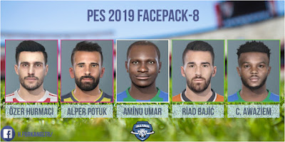 PES 2019 Facepack v8 by Halil Furkan