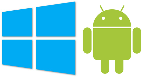windows 8 install android phone