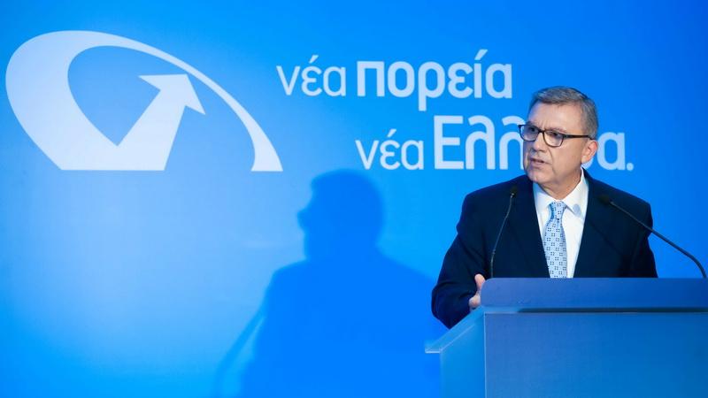 O Πρόεδρος του κόμματος Νέα Πορεία Νέα Ελλάδα Γιάννος Γραμματίδης στην Αλεξανδρούπολη