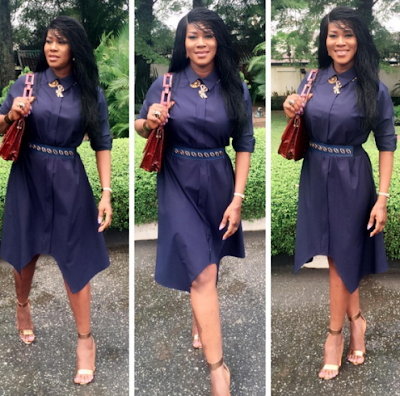 step - Nigerian Actress Stephanie Okereke In Movie Tittled ' Through The Glass'
