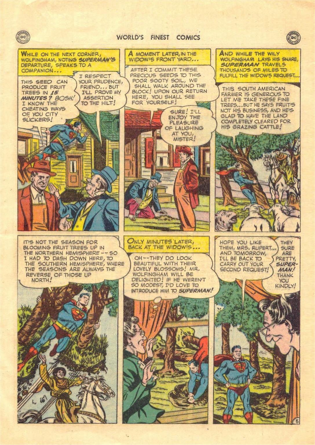 Read online World's Finest Comics comic -  Issue #52 - 7