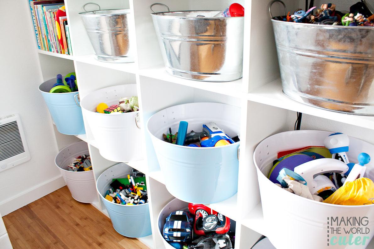16 Brilliant Kids Playroom Organization Ideas