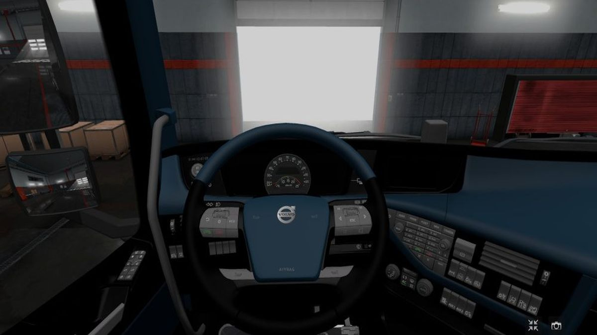 Volvo FH v2 Interior