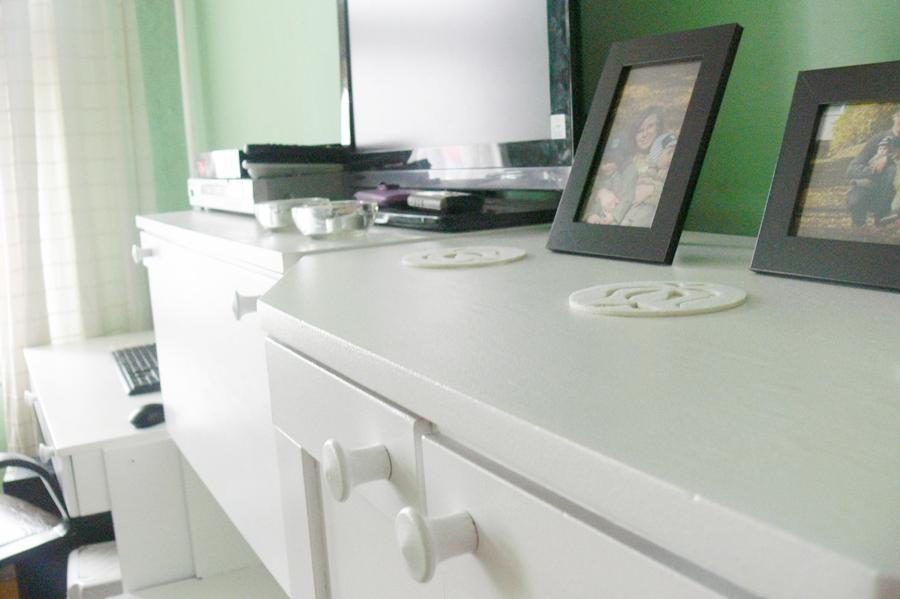 Odnawianie mebli DIY - po zmianach