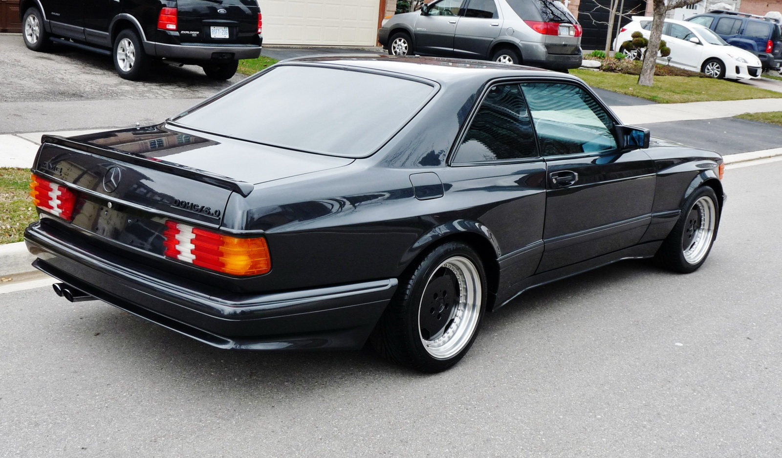 Mercedes benz 560 sec 6 0 amg is a box flared bad ss from for Mercedes benz 560 sec amg for sale