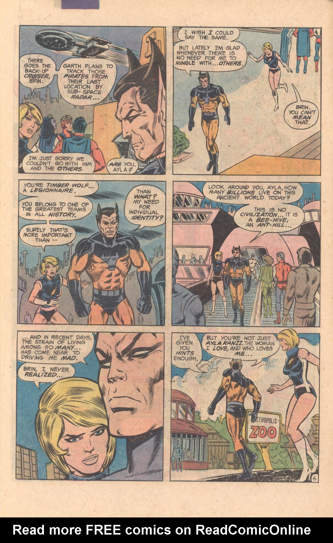 Legion of Super-Heroes (1980) 275 Page 6
