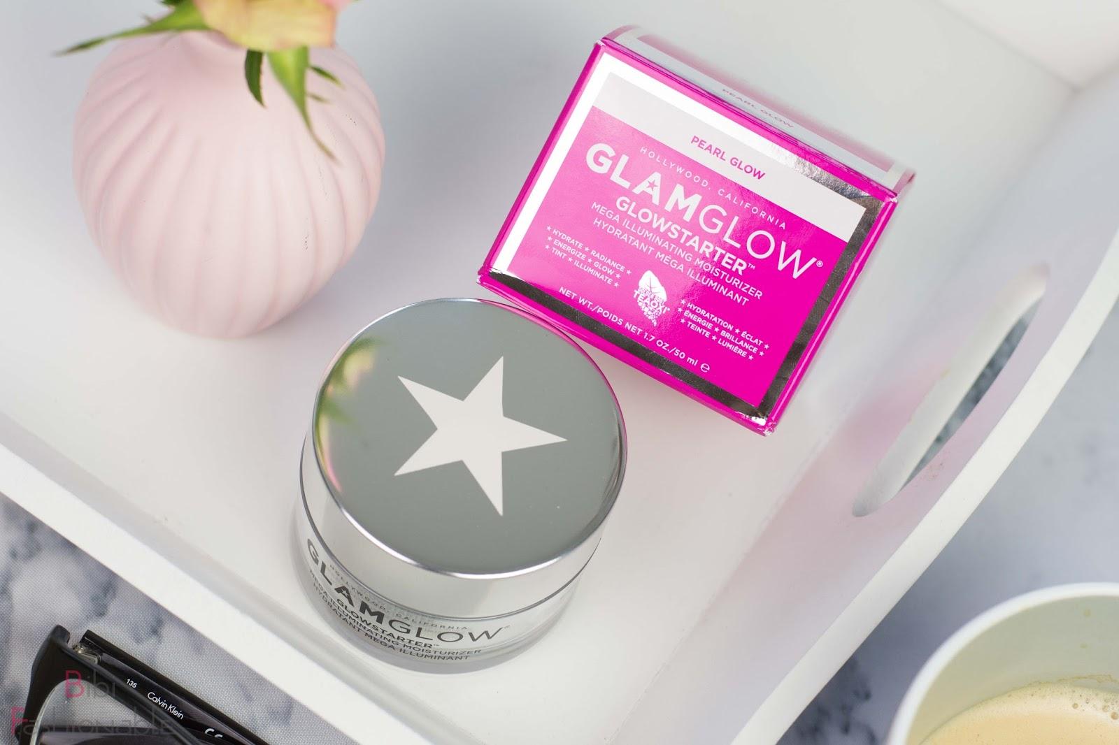 GlamGlow-Glowstarter Mega Iluminating Moisturizer Pearl Glow Umverpackung Produktname