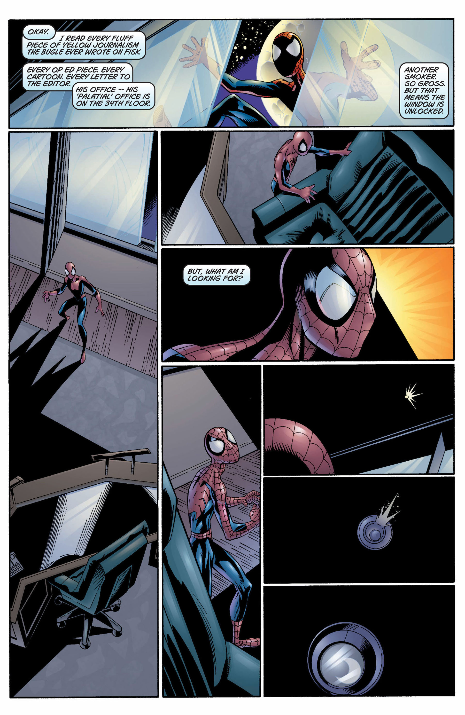 Read online Ultimate Spider-Man (2000) comic -  Issue #9 - 21