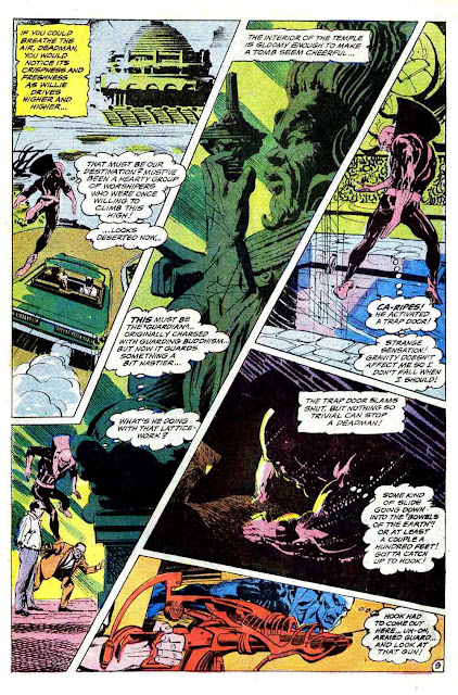 Strange Adventures v1 #215 dc 1960s silver age comic book page art by Neal Adams