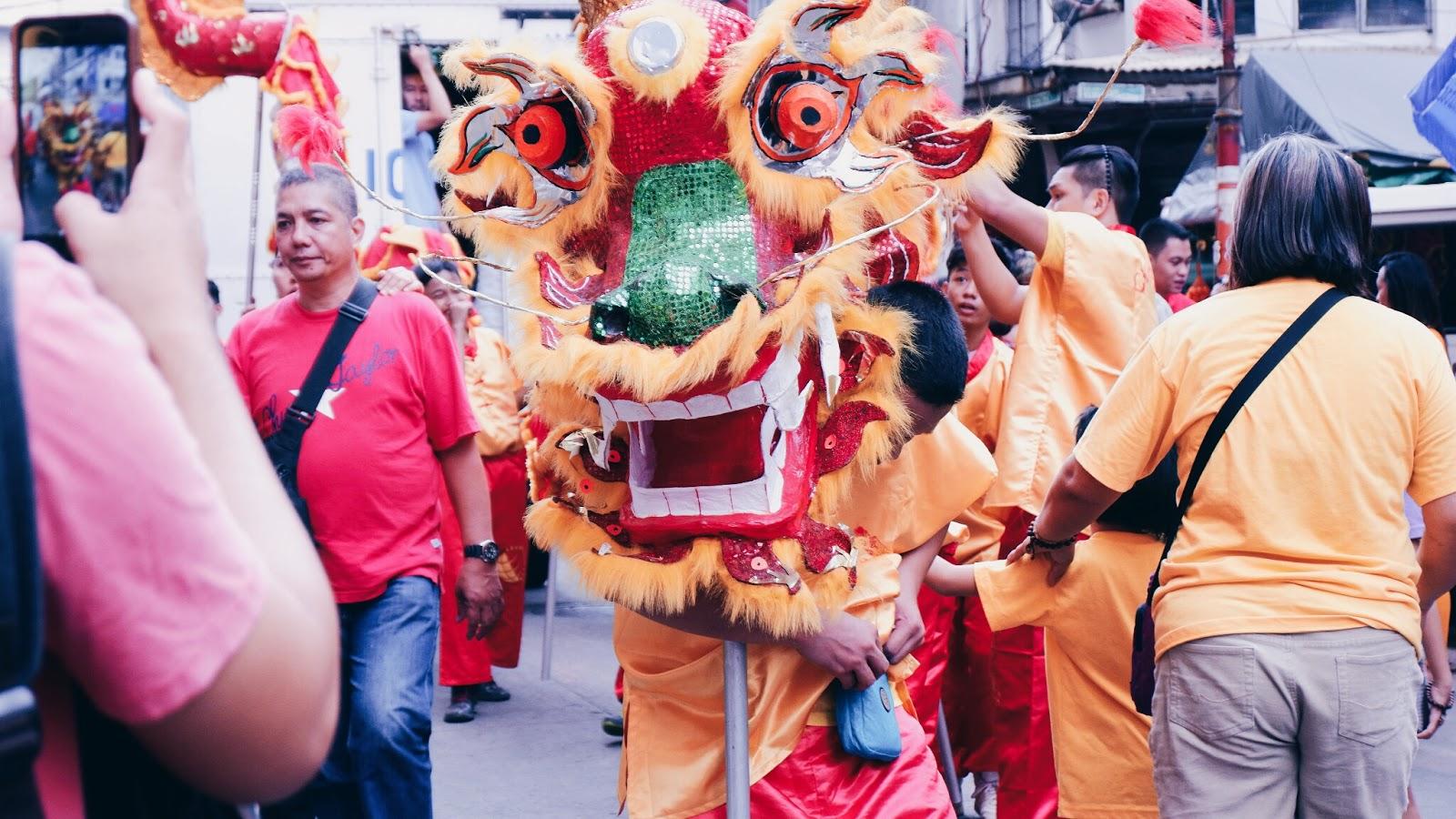 Binondo Dragon Dance