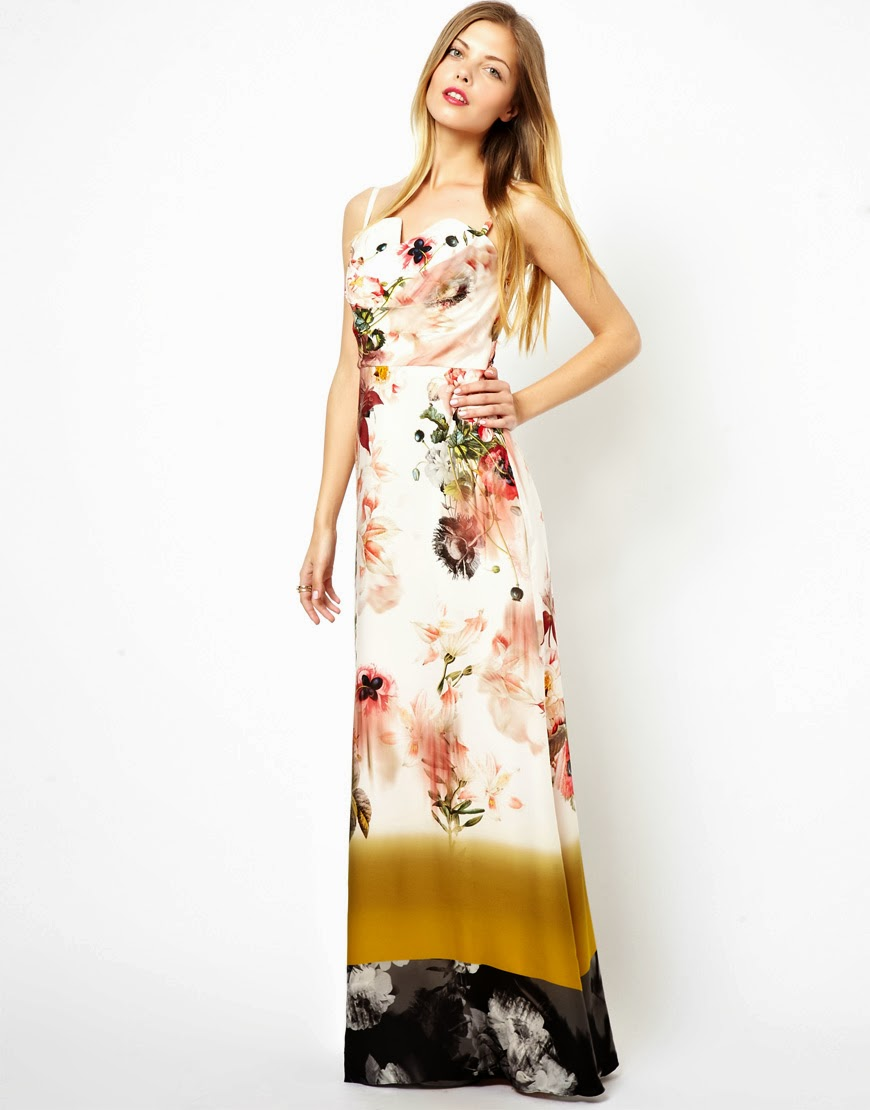 Ted Baker Print Maxi Dresses 2013 Latest Images World