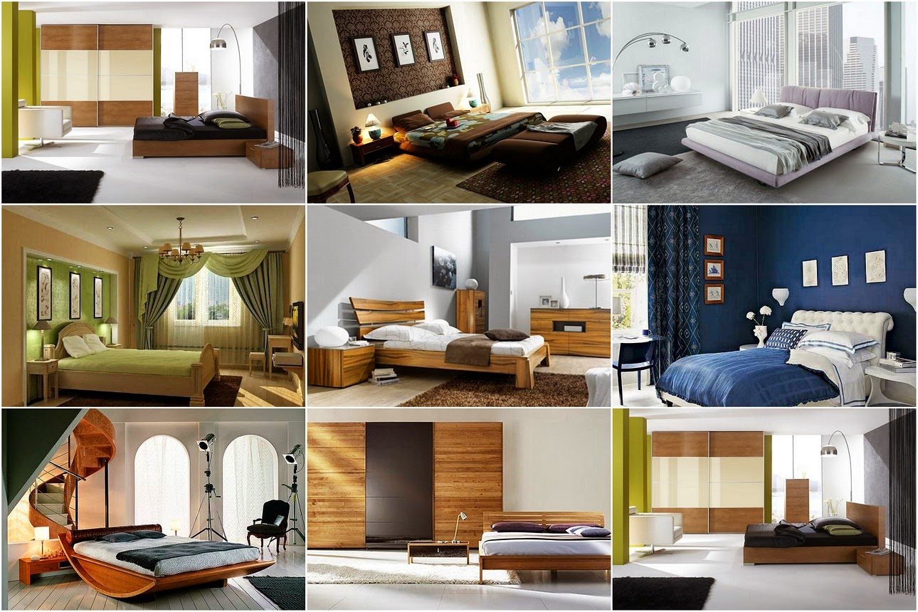 Contemporary Bedroom Decorating Ideas and Designs
