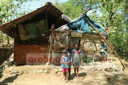 Miris, Sebuah Keluarga di Wirosari  Tinggal di Gubuk Reyot  5 Tahun Lebih