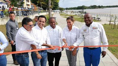 Quibdó recibió la primera fase del Malecón, con una inversión de 13 mil millones de pesos