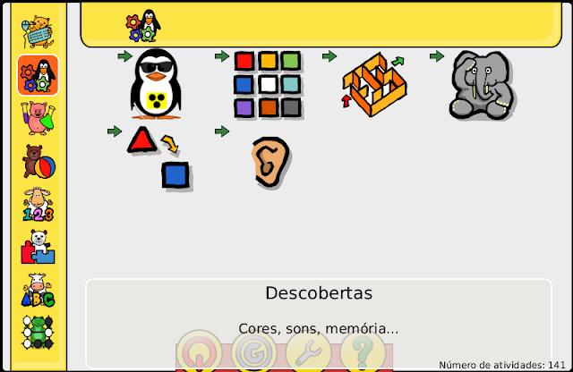 Suíte Educacional GCompris - Dicas Linux e Windows