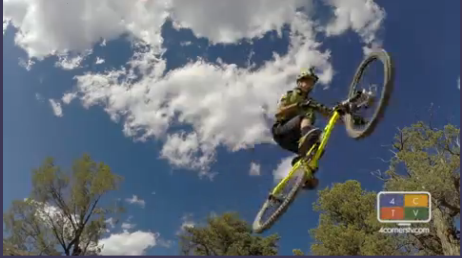 Four Corners TV - Anthony Diaz, Riding Hogsback and Diaz Suspension Design