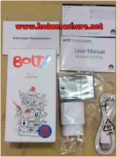Mengenal Bolt Slim dan Max Huawei E5372s