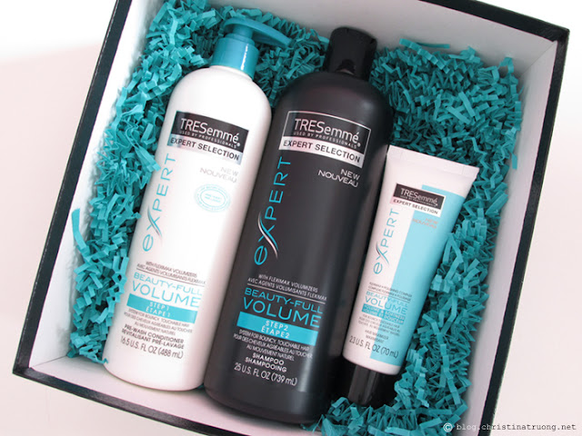 TRESemme Beauty-Full Volume Collection Review. Pre-Wash Conditioner Shampoo and Hair Maximizer