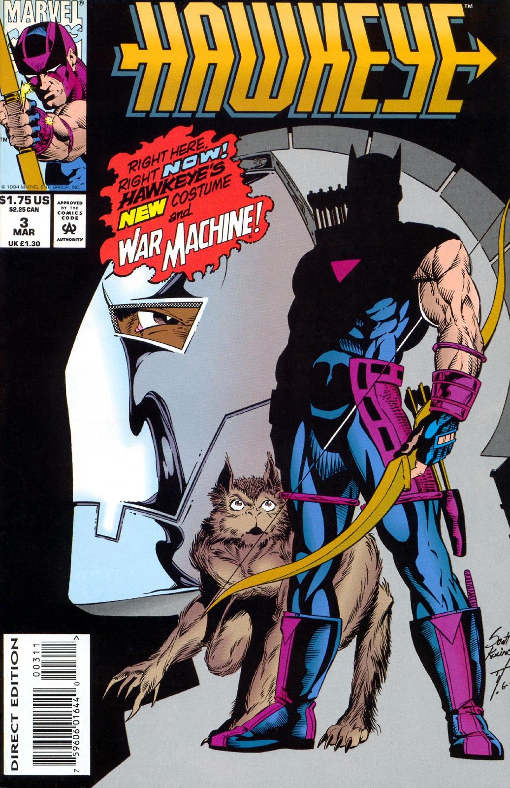 Hawkeye (1994) Issue #3 #3 - English 1