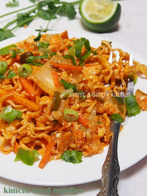 kimchi fried noodles